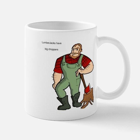 lumberjack Mug