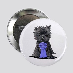 "Best In Show Affenpinscher 2.25"" Button"