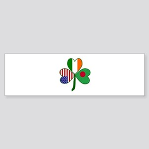 Shamrock of Bangladesh Sticker (Bumper)