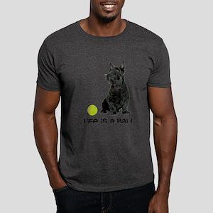 Scottish Terrier Life Dark T-Shirt