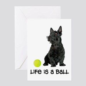 Scottish Terrier Life Greeting Card