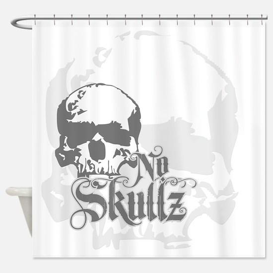 No skulls Shower Curtain