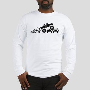Monster Truck Long Sleeve T-Shirt