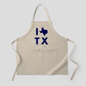 I Love Texas Apron