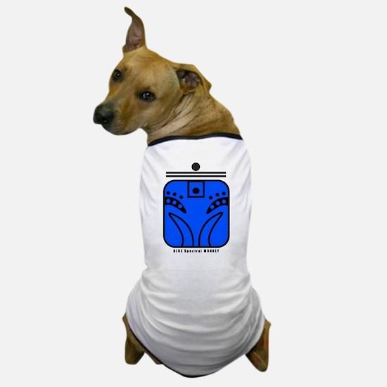 BLUE Spectral MONKEY Dog T-Shirt