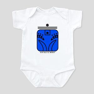 BLUE Spectral MONKEY Infant Bodysuit