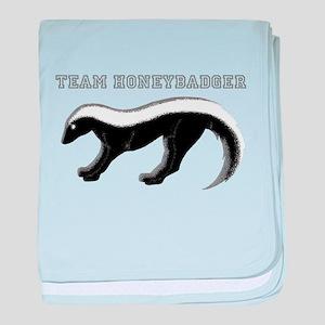 TEAM HONEYBADGER 2 baby blanket