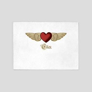Ellen the Angel 5'x7'Area Rug
