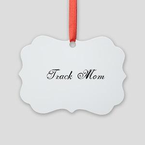 Track Mom - Team Mom Ornament