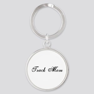 Track Mom - Team Mom Round Keychain