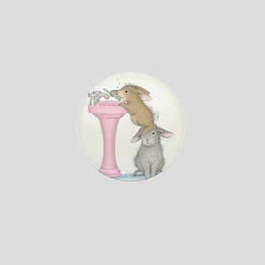 Bunny Lift Mini Button
