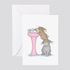 Bunny Lift Greeting Cards (Pk of 10)