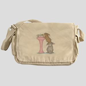 Bunny Lift Messenger Bag