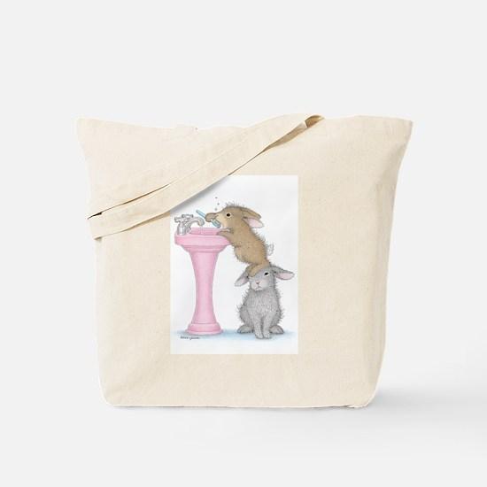 Bunny Lift Tote Bag