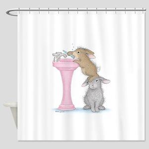 Bunny Lift Shower Curtain