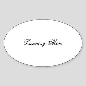 Running Mom - Team Mom Sticker