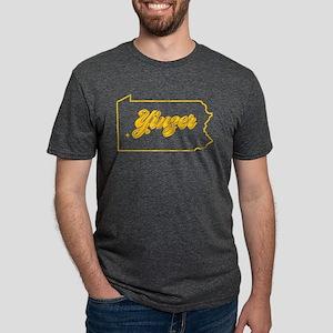Pennsylvania Yinzer Mens Tri-blend T-Shirt