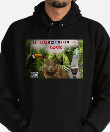 Poppy in the jungle - Unconditional Love Hoodie