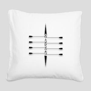 Oarsome! Square Canvas Pillow