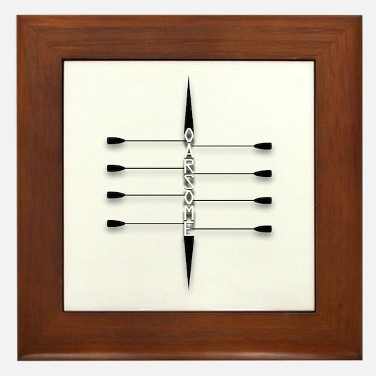 Oarsome! Framed Tile