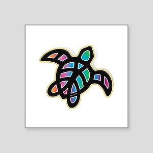 see turtle heart Sticker