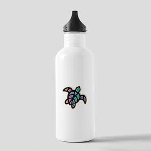 see turtle heart Water Bottle