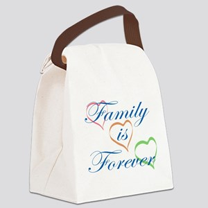 Family is Forever Canvas Lunch Bag