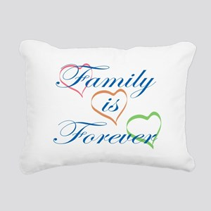Family is Forever Rectangular Canvas Pillow