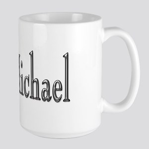 I heart Michael Large Mug