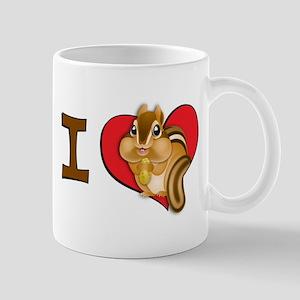 8.31Iheartchipmunks Mugs
