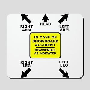 Reassemble Snowboarding Snowboard Funny T-Shirt Mo