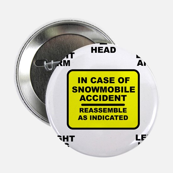 "Reassemble Snowmobile Funny 2.25"" Button"