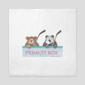 Penalty Box Queen Duvet