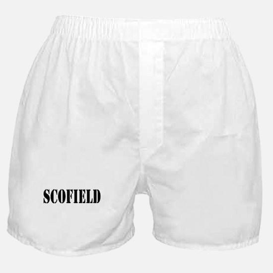 Scofield - Prison Break Boxer Shorts