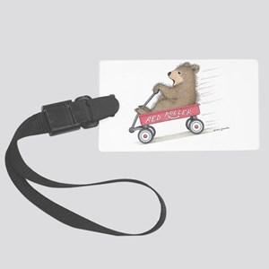 Red Roller Racing Luggage Tag