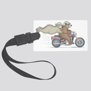 Hanging on for dear life Luggage Tag