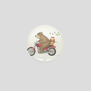 Honey on the Run Mini Button