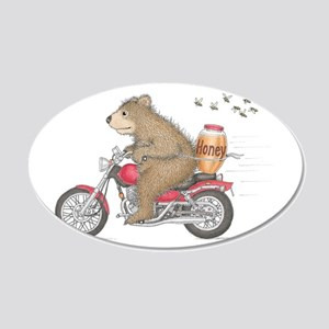 Honey on the Run Wall Decal