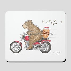 Honey on the Run Mousepad