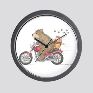 Honey on the Run Wall Clock