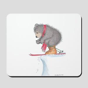 To Ski or Not to Ski Mousepad