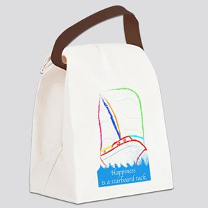 Starboard Tack Canvas Lunch Bag