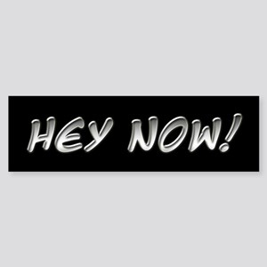 Hey Now - Howard Stern Show Bumper Sticker
