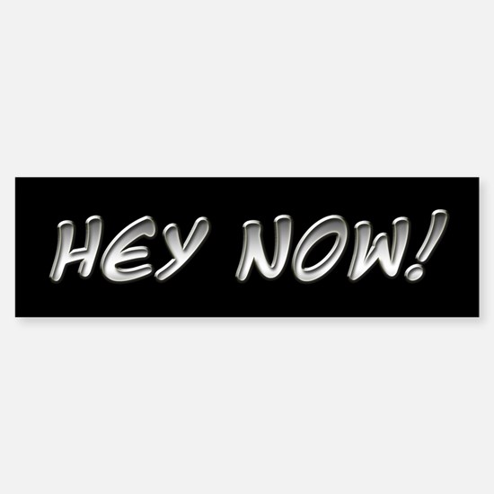 Hey Now - Howard Stern Show Bumper Bumper Bumper Sticker
