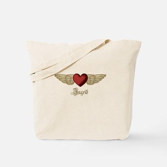 Ingrid the Angel Tote Bag