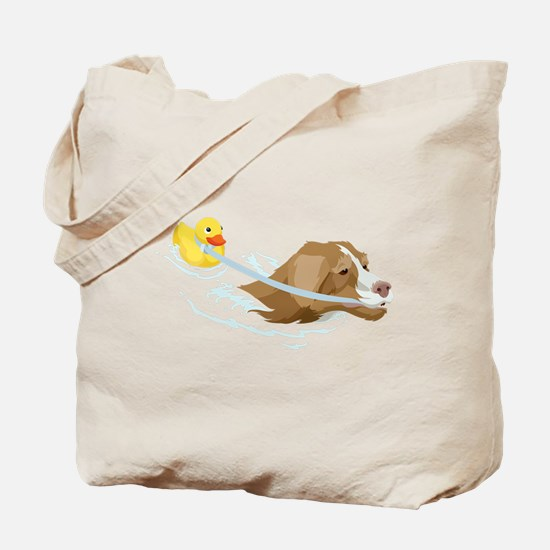 Toller Ducky Tote Bag