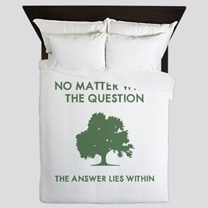 The Answer Lies Within Queen Duvet
