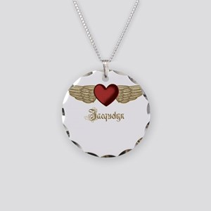 Jacquelyn the Angel Necklace