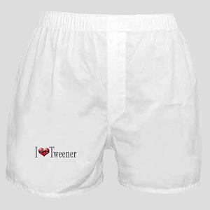 I heart Tweener Boxer Shorts