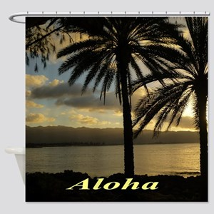 Sunset North Shore Oahu Shower Curtain